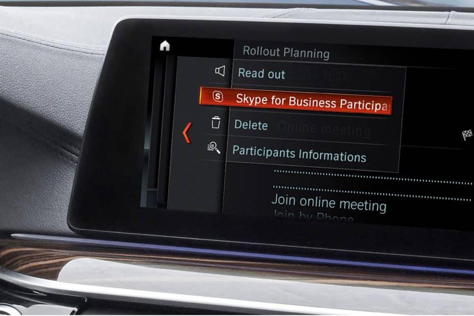 ¡Las videoconferencias de Skype llegan a tu BMW! Ahora disponibles desde la plataforma iDrive