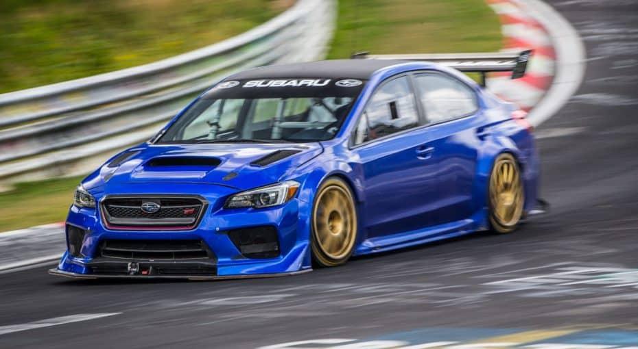 Subaru WRX STI Type RA NBR Special: Así es una bestia de menos de 7 minutos en Nürburgring