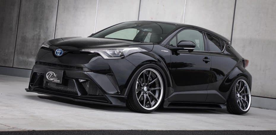 Kuhl Racing se atreve con el Toyota CH-R: Ahora un crossover excéntrico y radical
