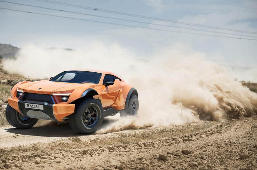 Zarooq SandRacer 500 GT: El todoterreno deportivo de los Emiratos Árabes ya es real ¡Y brutal!