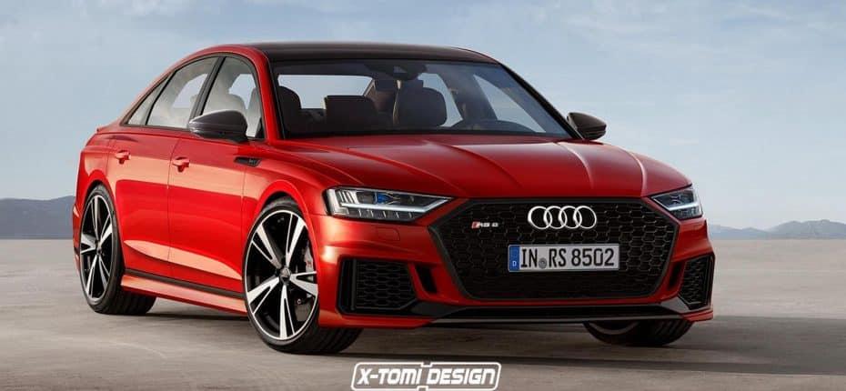 4 caras del nuevo Audi A8 2018: Desearás ver hecho realidad alguno de estos render…