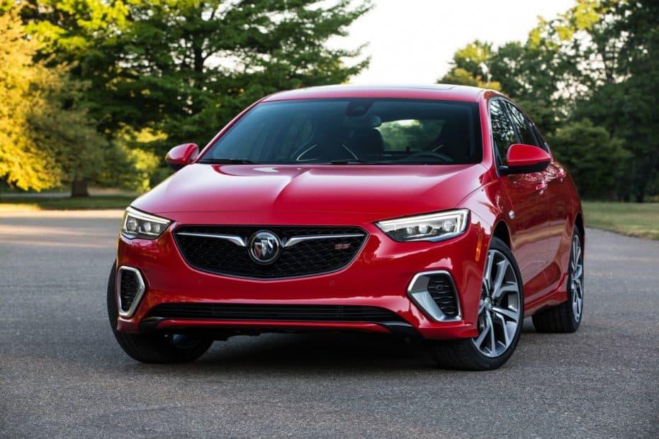 El Buick Regal GS es el equivalente al Insignia GSI… pero con 310 CV