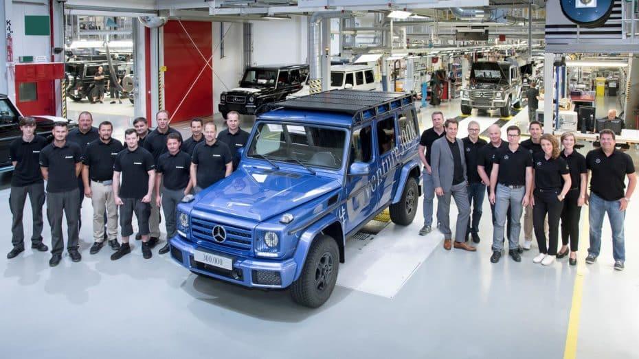 Mercedes produce la unidad 300.000 del Clase G: Un icono con 38 años