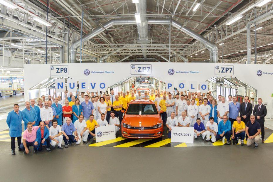 Sale de Navarra la primera unidad del nuevo Volkswagen Polo