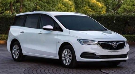 El Opel Zafira se transforma en el nuevo Buick GL6