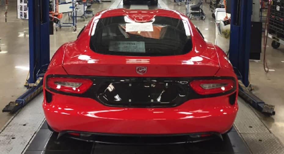 El último Dodge Viper sale de la planta de Conner Avenue: Adiós a una leyenda