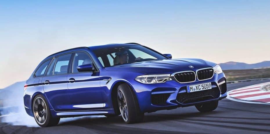 ¿Un BMW M5 Touring?: Por el momento, sólo en dibujo…
