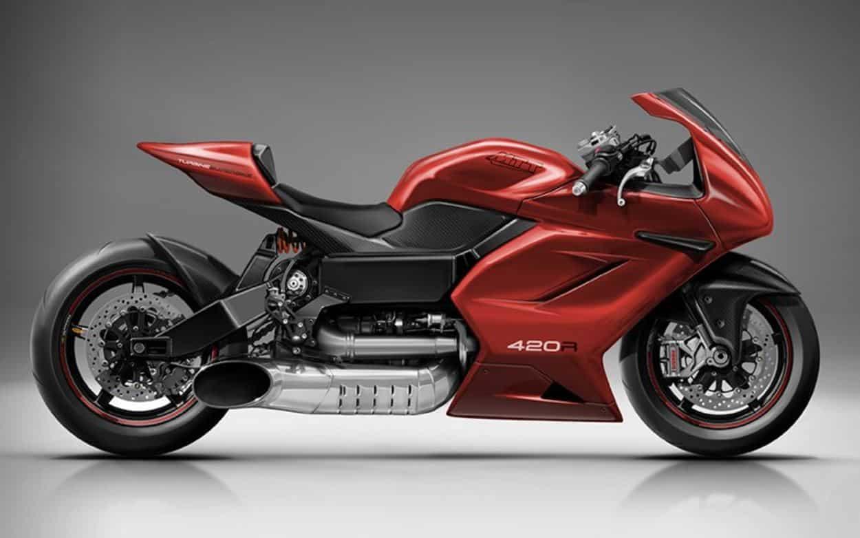 Esta moto tiene la misma turbina Rolls-Royce que un helicóptero y será la más rápida del planeta