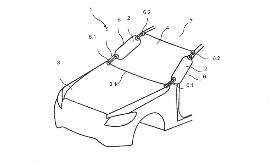 ¿Airbags para peatones ocultos tras el pilar A? Ojo a esta curiosa propuesta de Mercedes-Benz