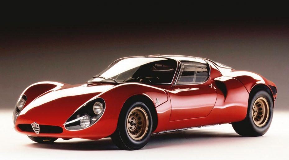El 33 Stradale cumple 50 años: La época dorada de Alfa Romeo