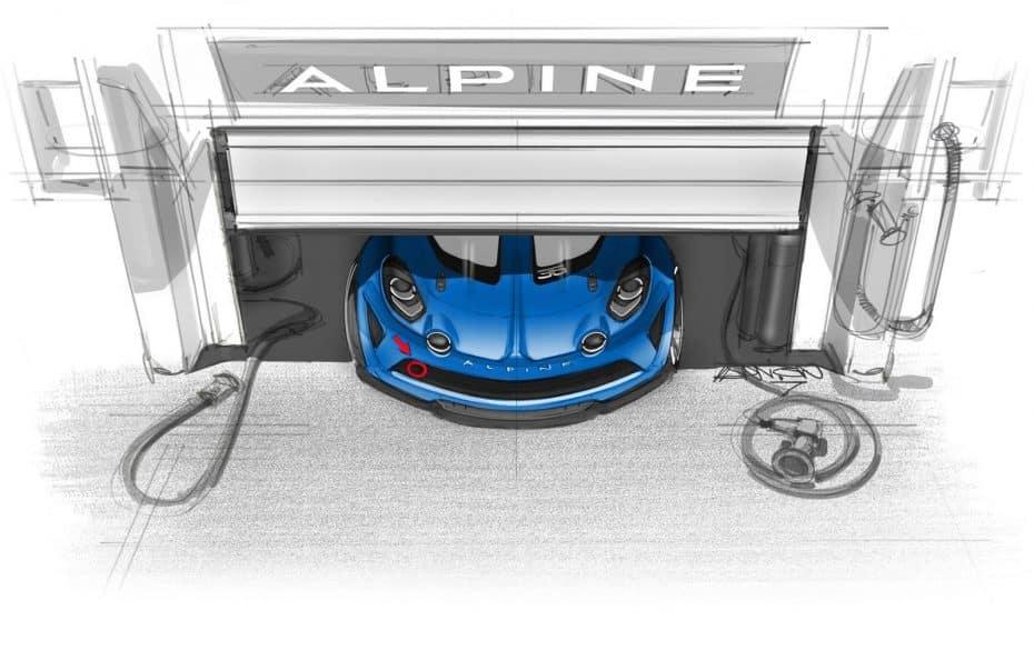 Alpine A110 Cup: Tras este primer teaser, lo conoceremos el próximo mes de septiembre