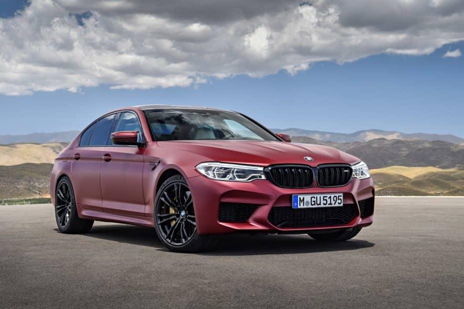 El nuevo BMW M5 luce aún más salvaje en su First Edition: ¡Todo al rojo con 400 unidades!