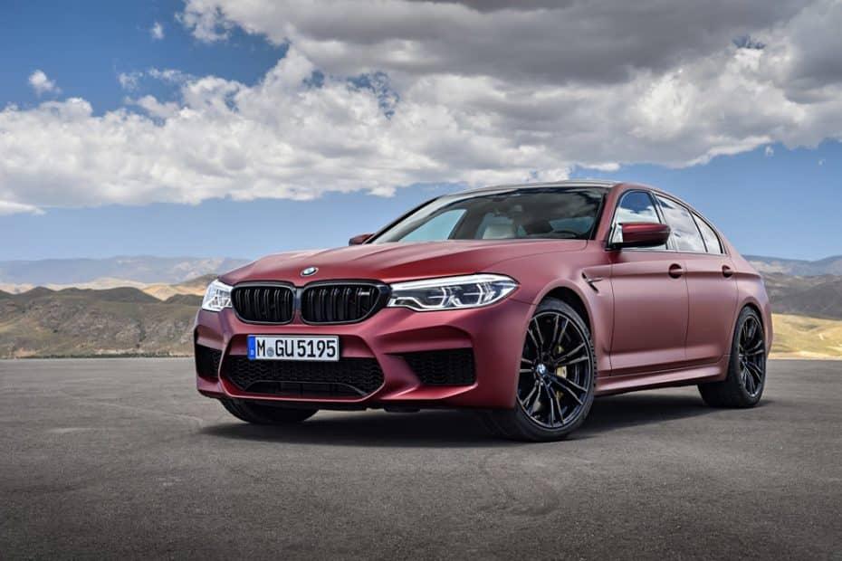 ¡Maldito dinero!: BMW anuncia el precio del M5 First Edition