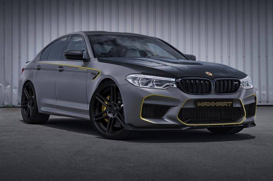 ¿600 CV son pocos para el nuevo BMW M5? Tranquilo que Manhart le añade a la bestia 200 CV extra