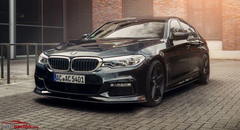 Hasta la llegada del BMW M5, el Serie 5 más salvaje es obra de AC Schnitzer: Hasta 400 CV para el 540i