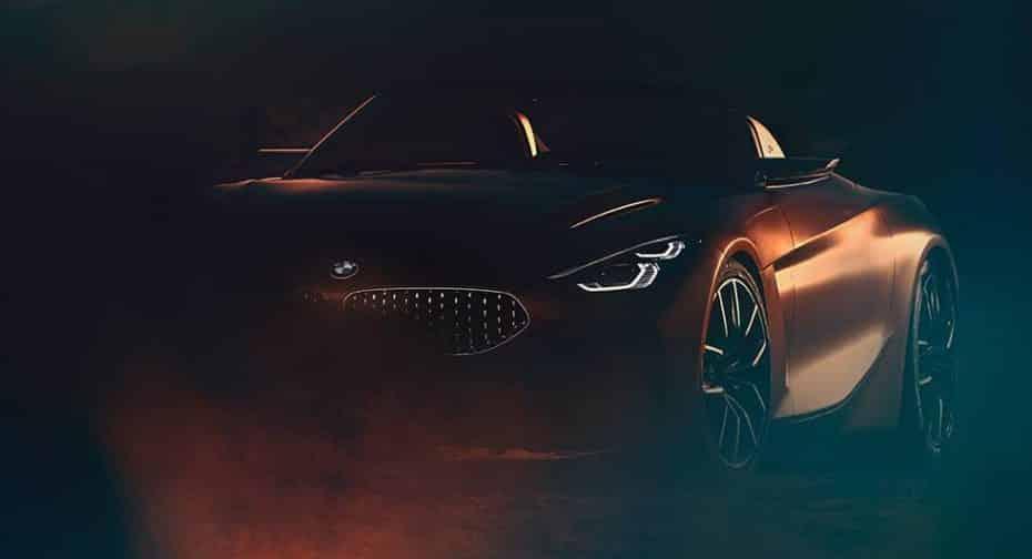 Aquí tienes un jugoso anticipo del BMW Z4 Concept que verá la luz mañana