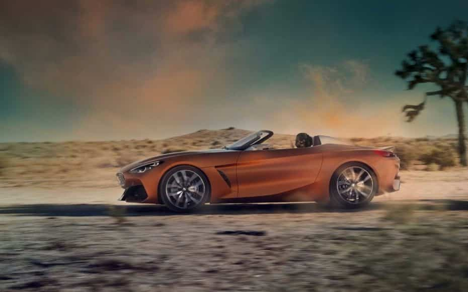 ¡Filtrado!: Así es el BMW Z4 Concept, la nueva generación está a la vuelta de la esquina…