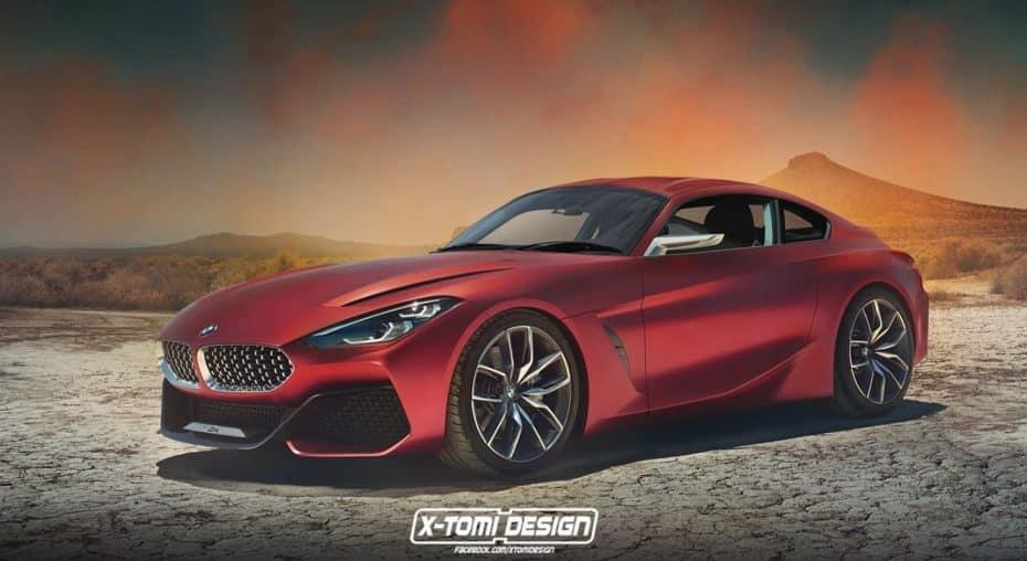 Atento a esta recreación: Así sería el próximo BMW Z4 coupé