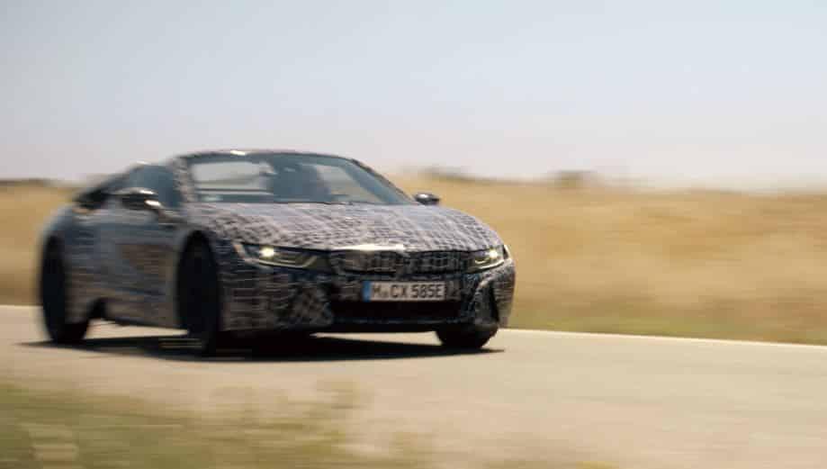 El BMW i8 Roadster se deja ver en su fase final de desarrollo: Aquí los primeros datos oficiales