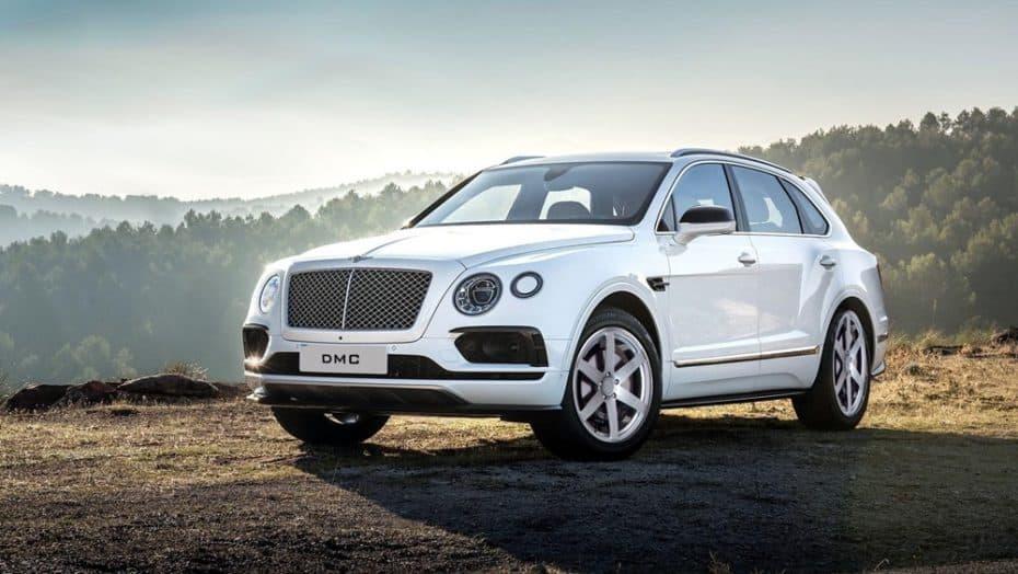 DMC le mete mano al Bentley Bentayga: Fibra de carbono para un sutil pero acertado cambio con 705 CV