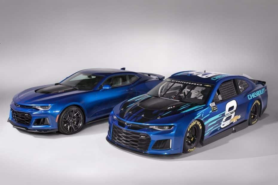 El sustituto del Chevrolet SS en la NASCAR es nada menos que este Camaro ZL1