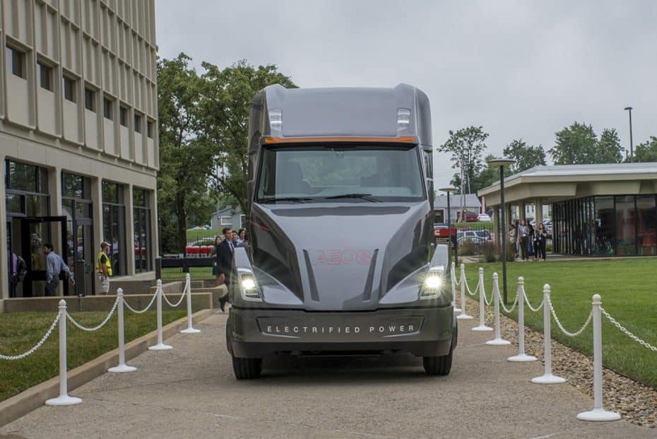 Cummins AEOS: El nuevo camión urbanita eléctrico que saldrá a la venta en 2019 con 160 km de autonomía