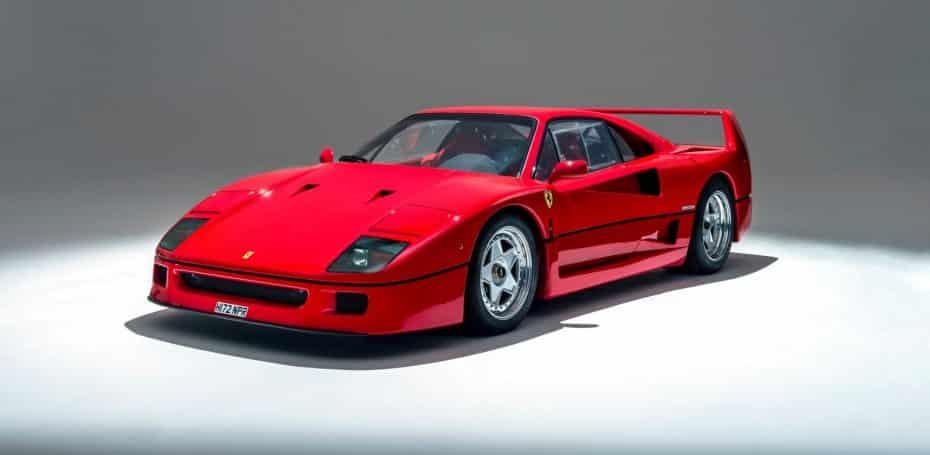 12 curiosidades que probablemente desconocías del Ferrari F40: Un icono con muchos secretos