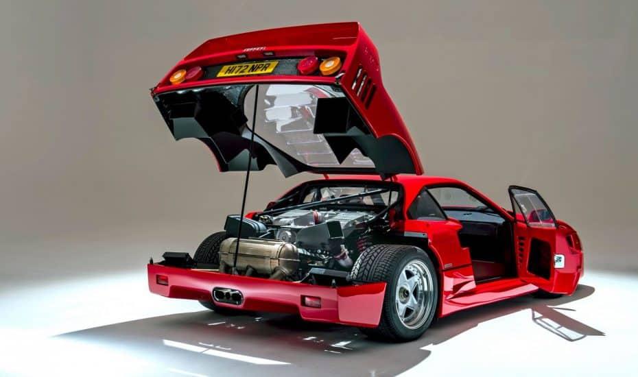 ¡Joya a la venta!: Este Ferrari F40 está mejor que nuevo, tiene menos de 3000 km y busca hogar…