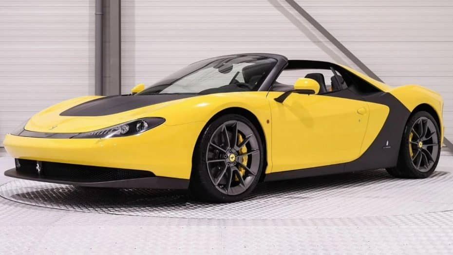 ¿Recuerdas el Ferrari Sergio? Por 4,3 millones de euros ahora te puedes hacer con la unidad 1/6