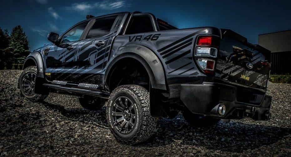 Carlex Design, MS-RT y Valentino Rossi han unido sus fuerzas para crear este salvaje Ford Ranger