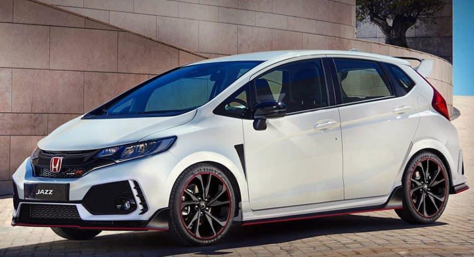 ¿Y si el Honda Jazz 2018 heredara la fórmula del Civic Type R? A ver qué te parece este render