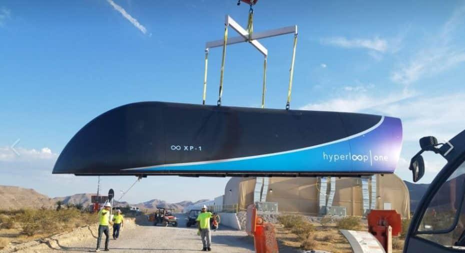 [Vídeo] Así son las primeras pruebas del Hyperloop One: Hasta 309 km/h