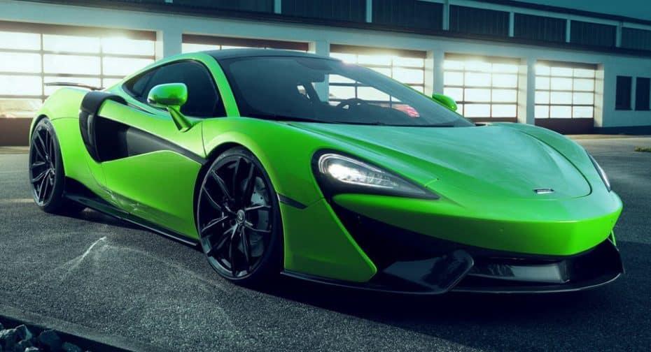 Más bestia que Hulk: Con más de 600 CV, el McLaren 570GT de Novitec no es un juguete para niños