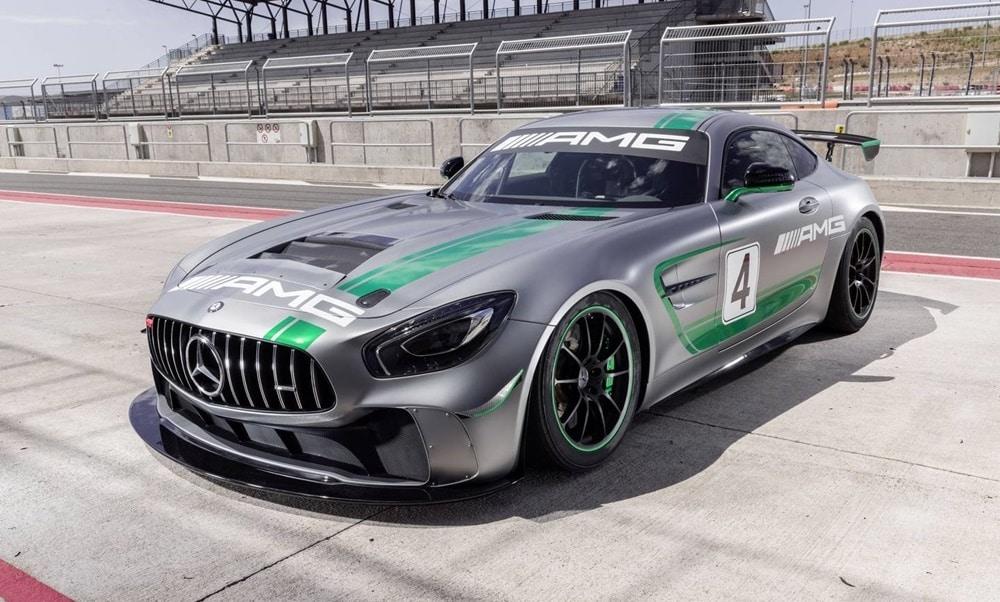 Oficial: Mercedes-AMG GT4, una bestia para la pista inspirada en el AMG GT R