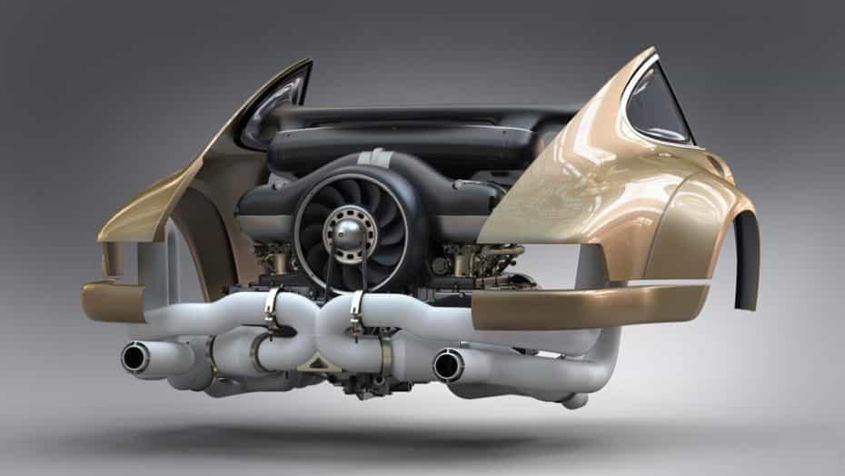 El motor perfecto es obra de Williams, Singer y Mezger: Será un bóxer de 500 CV y más de 9.000 rpm