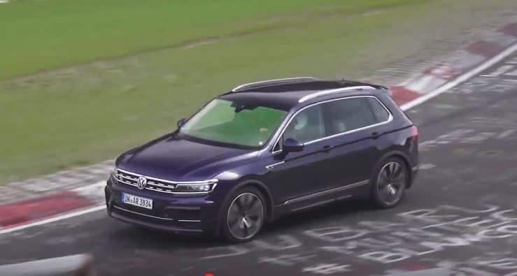 ¿Estamos ante un posible Volkswagen Tiguan R o la firma alemana esconde algo?