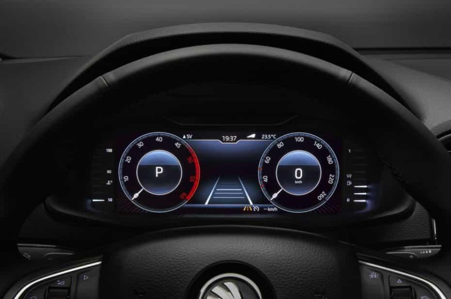 El Škoda Karoq será el primer modelo de la marca en equipar el panel de instrumentos digital personalizable