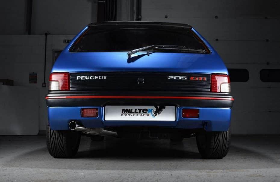 Milltek Classic le mete mano a una joya: El Peugeot 205 Gti tiene nuevo escape