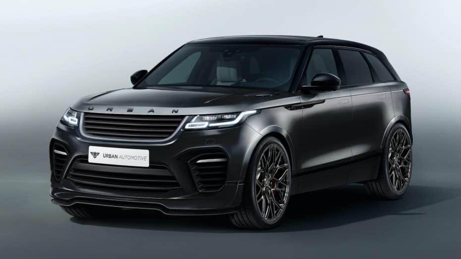 Urban Automotive nos muestra un sugerente Range Rover Velar: Solo apto para gente poco discreta