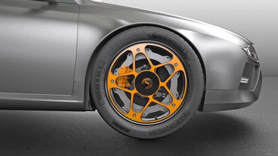 """Continental reinventa el concepto de rueda: Ojo a este """"todo en uno"""" para eléctricos"""