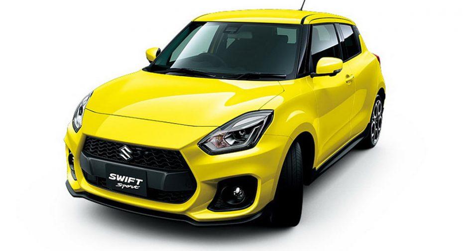Nuevas imágenes del Suzuki Swift Sport: 140 CV y muy llamativo por dentro y por fuera