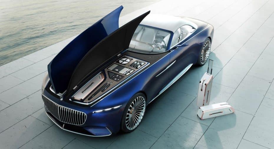 Vision Mercedes-Maybach 6 Cabriolet: ¿Es un coche o el primer yate para la carretera?