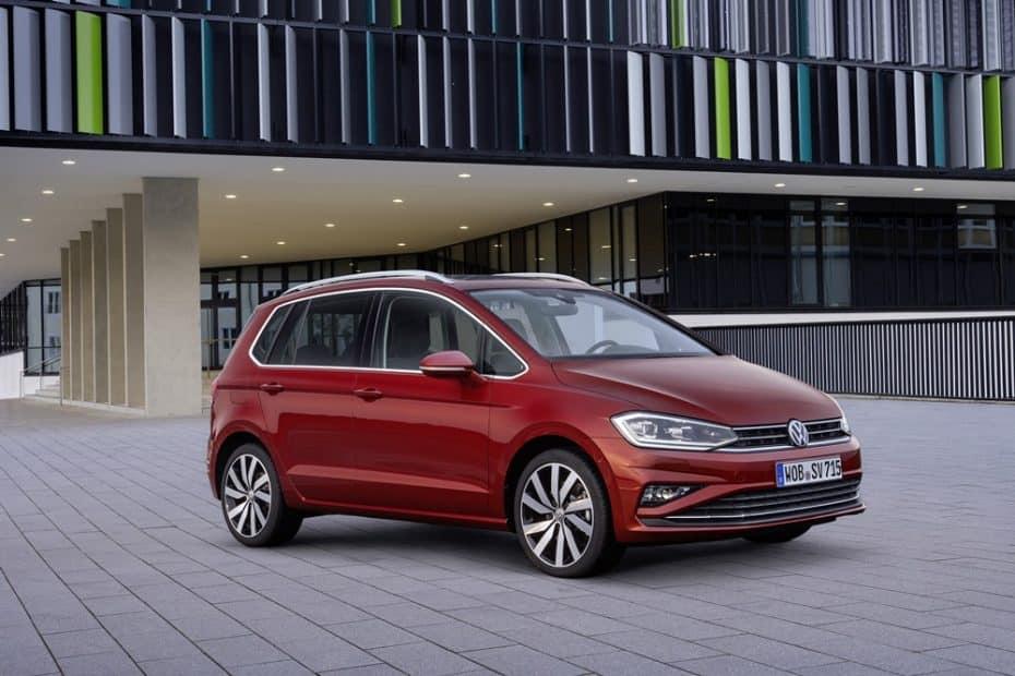 El renovado VW Golf Sportsvan se estrena en Alemania: Sólo en gasolina
