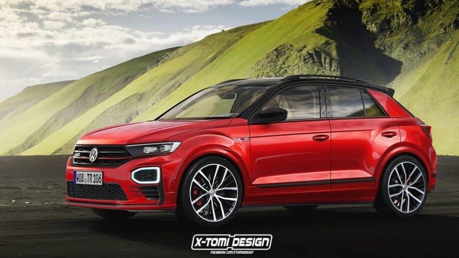 Se habla de un posible Volkswagen T-Roc R pero, ¿qué te parece esta variante GTI?