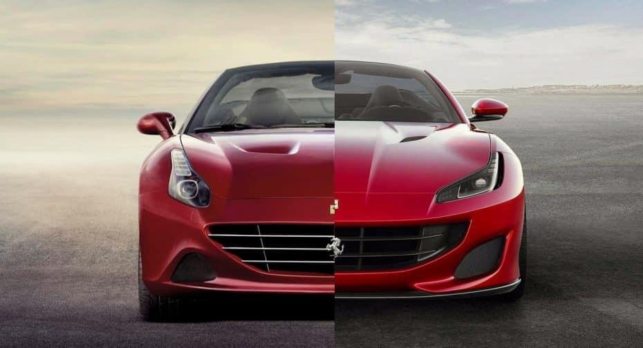 Comparación visual: Juzga tú mismo si el Ferrari Portofino es un digno sucesor del California T