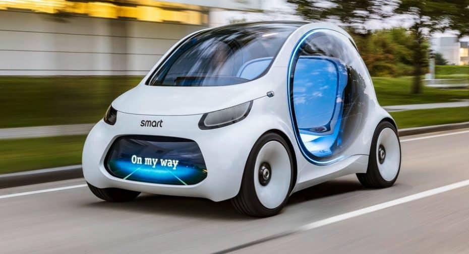 smart Vision EQ fortwo: ¡El urbanita se convierte en autónomo para conquistar la ciudad!