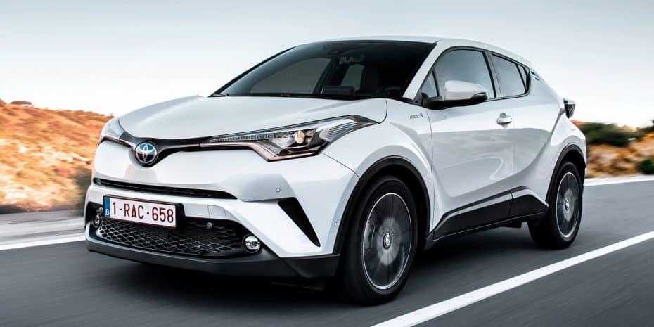 El Toyota C-HR fue el híbrido más vendido de Europa en mayo