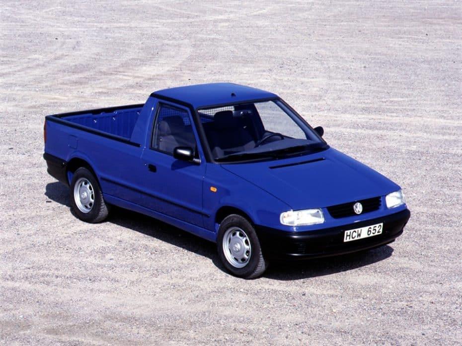 ¿Sabías que el Skoda Felicia Pick Up se vendió como Volkswagen Caddy?