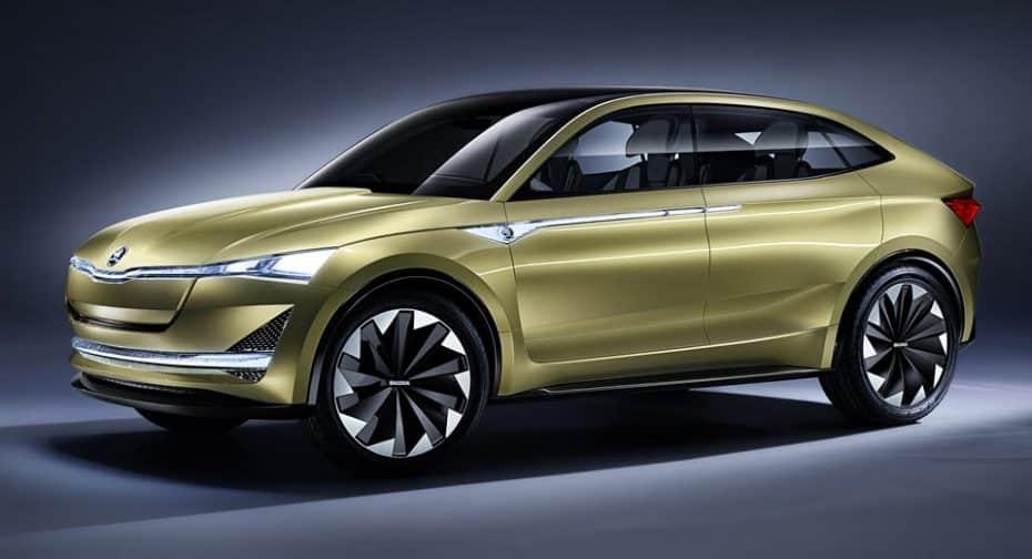 Škoda reafirma su compromiso eléctrico en Frankfurt con un sutilmente remozado Vision E Concept