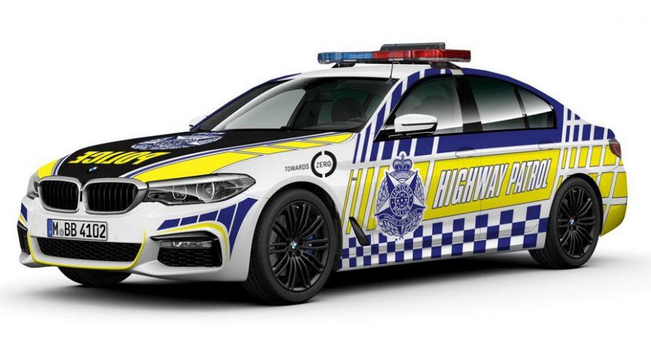 La policía australiana usará como coches patrulla 80 BMW 530d ¡Y su aspecto es brutal!